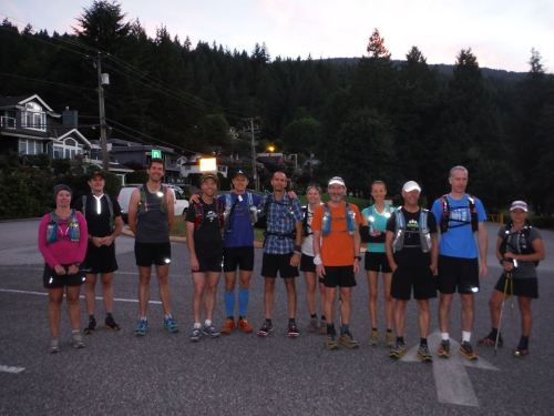 Vancouver 100km Start